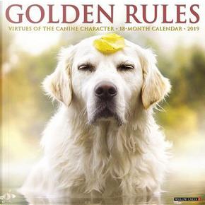 Golden Rules 2019 Calendar by Willow Creek Press