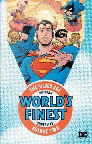 Batman & Superman in World's Finest Comics 2 by Edmond Hamilton