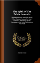 The Spirit of the Public Journals by Honorary Senior Lecturer Stephen Jones