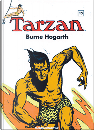Tarzan (1945-1947) vol. 15 by Burne Hogarth