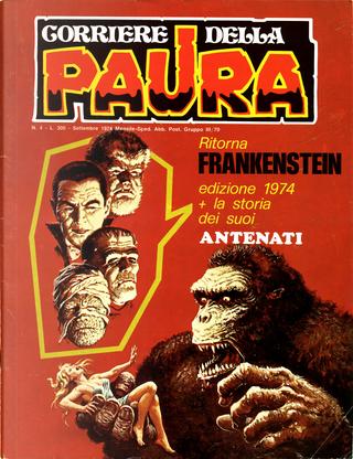 Corriere della Paura n. 4 by Cesare Medail, Gary Friedrich, Stan Lee, Steve Gerber