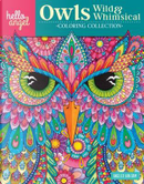Owls Wild & Whimsical Coloring Collection by Angelea Van Dam