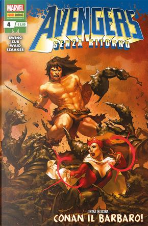 Avengers - Senza ritorno n. 4 by Al Ewing, Jim Zub, Mark Waid