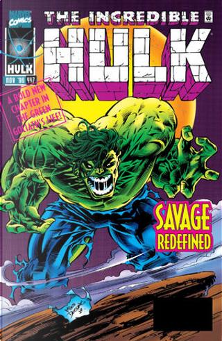 The Incredible Hulk vol. 1 n. 447 by Peter David