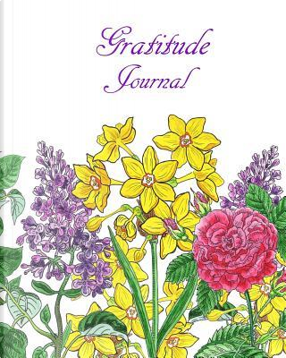 Gratitude Journal Watercolor Flowers Cover by Irina Sztukowski by Irina Sztukowski
