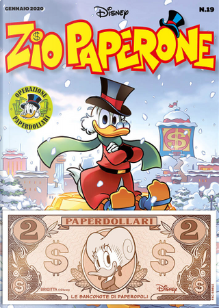 Zio Paperone (Seconda serie) n. 19 by Bruno Concina, Marco Bosco, Michael T. Gilbert, Pietro Zemelo, Rodolfo Cimino, Vito Stabile