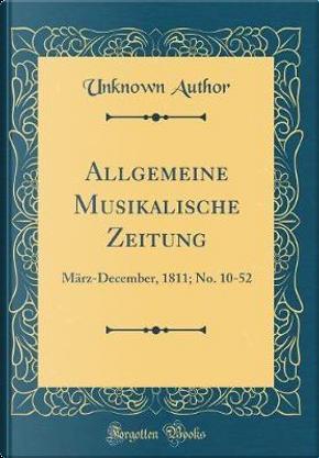 Allgemeine Musikalische Zeitung by Author Unknown
