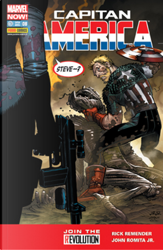 Capitan America #8 Marvel Now! by Christopher Sebela, Kelly Sue DeConnick, Nick Spencer, Rick Remender