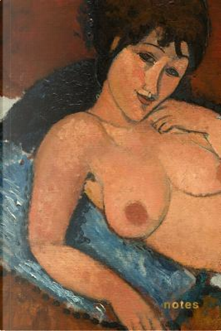 Amedeo Modigliani Nude on a Blue Cushion Notebook by Nifty Notebooks
