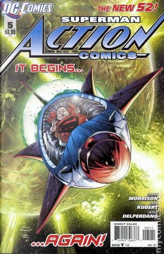 Action Comics Vol.2 #5 by Grant Morrison
