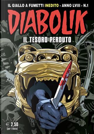 Diabolik anno LVIII n. 1 by Andrea Pasini, Mario Gomboli, Roberta Finocchiaro