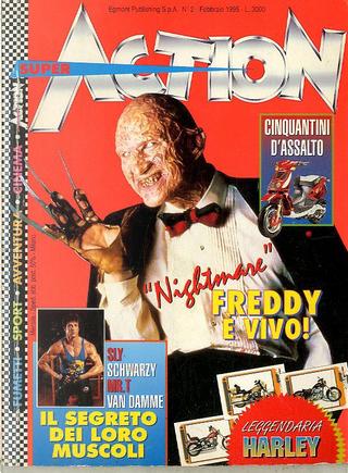 Super Action n. 2, anno II, febbraio 1995 by Bad, Luca Enoch
