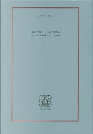 Ernesto De Martino by Gennaro Sasso