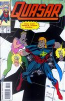 Quasar Vol.1 #51 by Mark Gruenwald