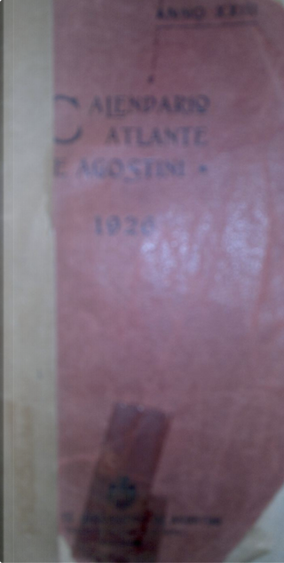 Calendario atlante 1926