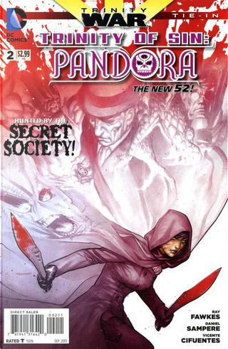 Trinity of Sin: Pandora Vol.1 #2 by Ray Fawkes