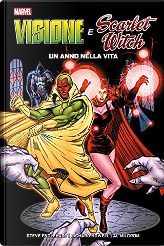 Visione e Scarlet Witch by Steve Englehart