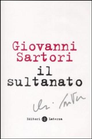 Il sultanato by Giovanni Sartori