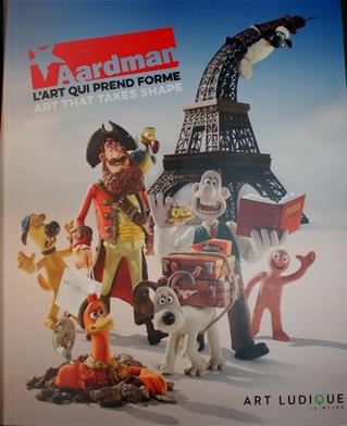 Aardman: L'art qui prend forme by David Sproxton, Nick Park, Peter Lord