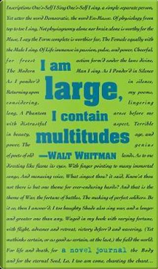 Leaves of Grass Novel Journal by Walt Whitman