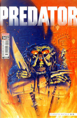 Predator #14 by James Vance, Kate Worley