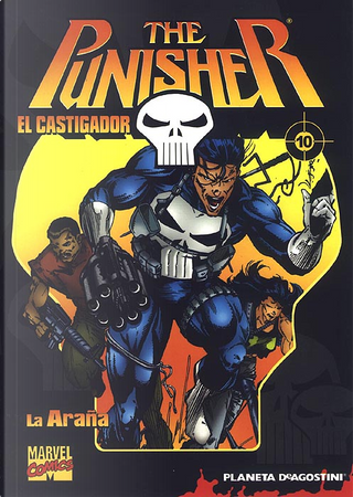 The Punisher / El Castigador, coleccionable #10 (de 32) by Carl Potts, Mike Baron