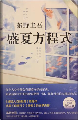 盛夏方程式 by 东野圭吾