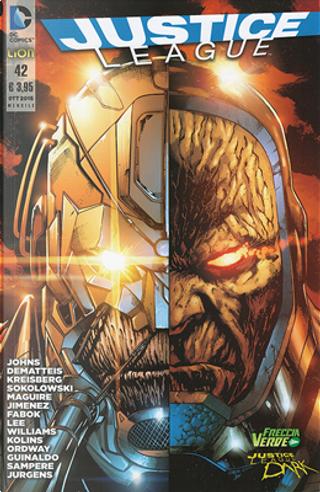 Justice League n. 42 by Andrew Kreisberg, Ben Sokolowski, Geoff Jones, J. M. DeMatteis