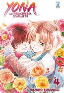 Yona - La principessa scarlatta vol. 4 by Mizuho Kusanagi