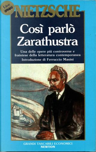 Così Parlò Zarathustra by Friedrich Nietzsche