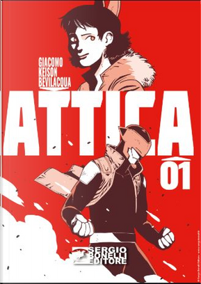 Attica n. 1 by Giacomo Keison Bevilacqua