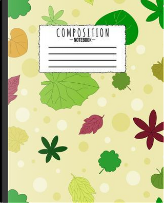 Composition Notebook by LaJ Notebooks