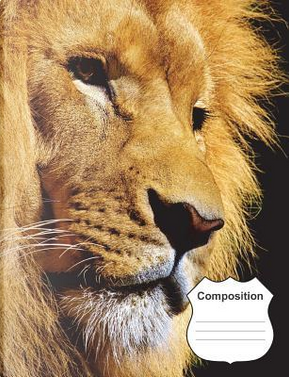 Lion Composition Notebook by Practical Journals