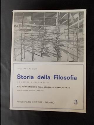 Storia della filosofia ad uso dei Licei classici - Volume III by Giuseppe Faggin
