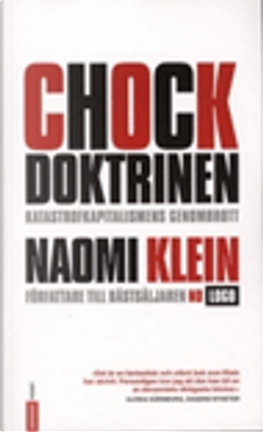 Chock doktrinen by Naomi Klein