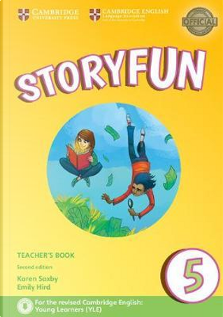 Storyfun for Starters, Movers and Flyers. Flyers 1. Teacher's Book with Audio mp3. Con File audio per il download by Karen Saxby