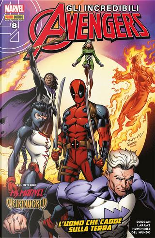 Incredibili Avengers #40 by Gerry Duggan, Margaret Stohl, Sam Humphries