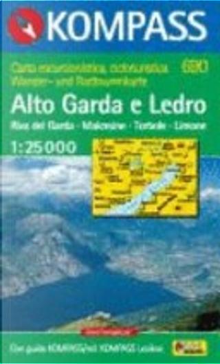 690: Alto Garda E Ledro 1:25, 000 by Kompass-Karten GmbH