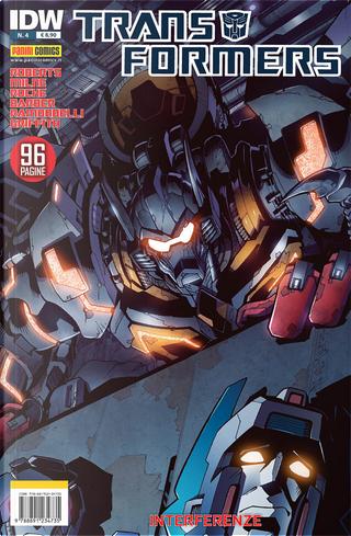 Transformers vol. 4 by James Roberts, John Barber