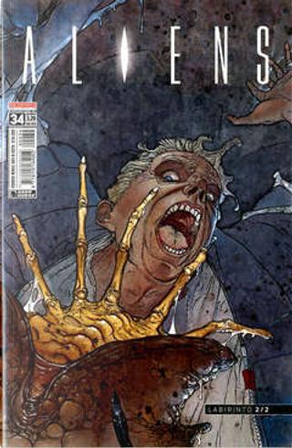 Aliens #34 by Jim Woodring