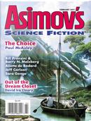 Asimov's Science Fiction, February 2011 by Aliette de Bodard, Barry N. Malzberg, Bill Pronzini, David Ira Cleary, Jane Yolen, Jeff Carlson, Paul McAuley, Sara Genge, Tim McDaniel, Uncle River, W. Gregory Stewart