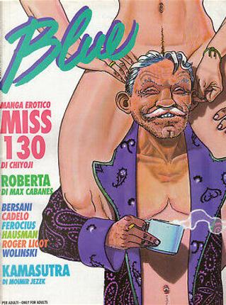 Blue n. 33, anno III, ottobre 1993 by Ferocius, Georges Wolinski, Max Cabanes, Moimir Ježek, Monica e Bea, René Hausman, Roger Licot, Silvio Cadelo, Tomo Chiyoji