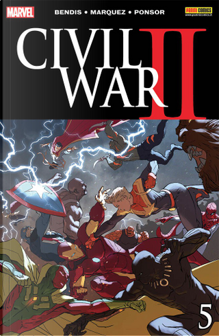 Civil War II #5 by Brian Michael Bendis, Chip Zdarsky, Enrique Carrion