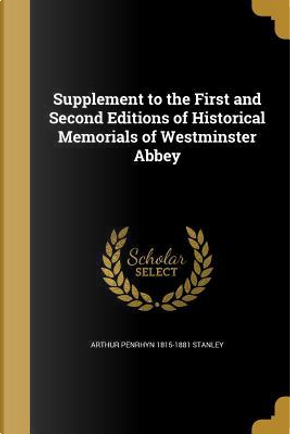 SUPPLEMENT TO THE 1ST & 2ND ED by Arthur Penrhyn 1815-1881 Stanley
