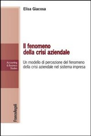 Il fenomeno della crisi aziendale. Un modello di percezione del fenomeno della crisi aziendale nel sistema impresa by Elisa Giacosa