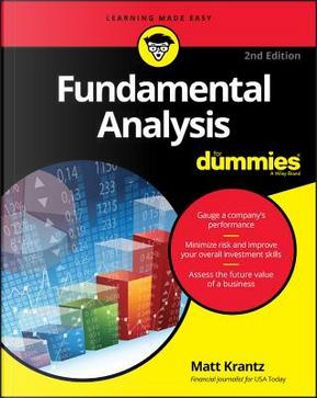 Fundamental Analysis for Dummies by Matt Krantz