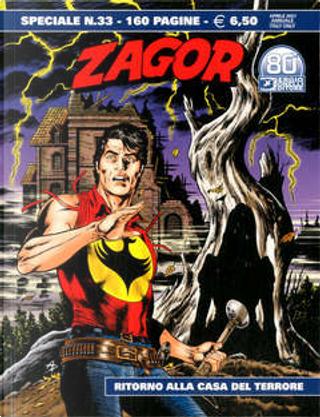 Zagor Speciale n. 33 by Moreno Burattini