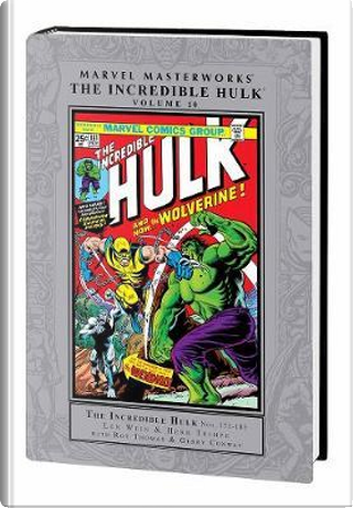 Marvel Masterworks The Incredible Hulk 10 by Len Wein