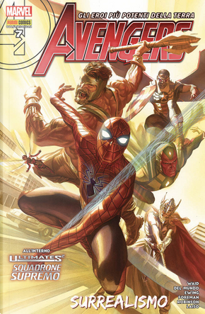 Avengers n. 82 by Mike Del Mundo, Travel Foreman