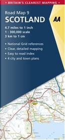 Aa Scotland Road Map by Automobile Association (Great Britain)